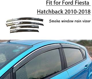 4 pi/èces Autoclover Jeu de d/éflecteurs dair pour Ford Fiesta MK7 2009-2017 5 Portes /à hayon