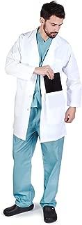 M&M SCRUBS Men IPAD Pocket Holder Lab Coat