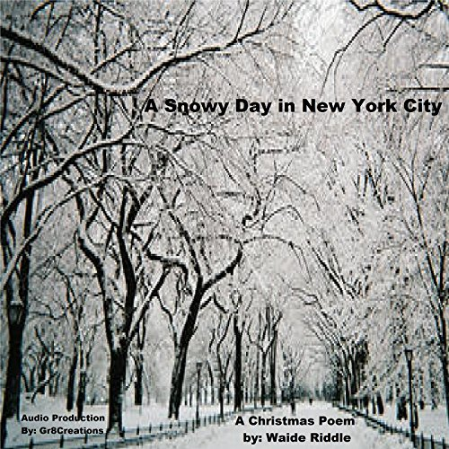 A Snowy Day in New York City audiobook cover art