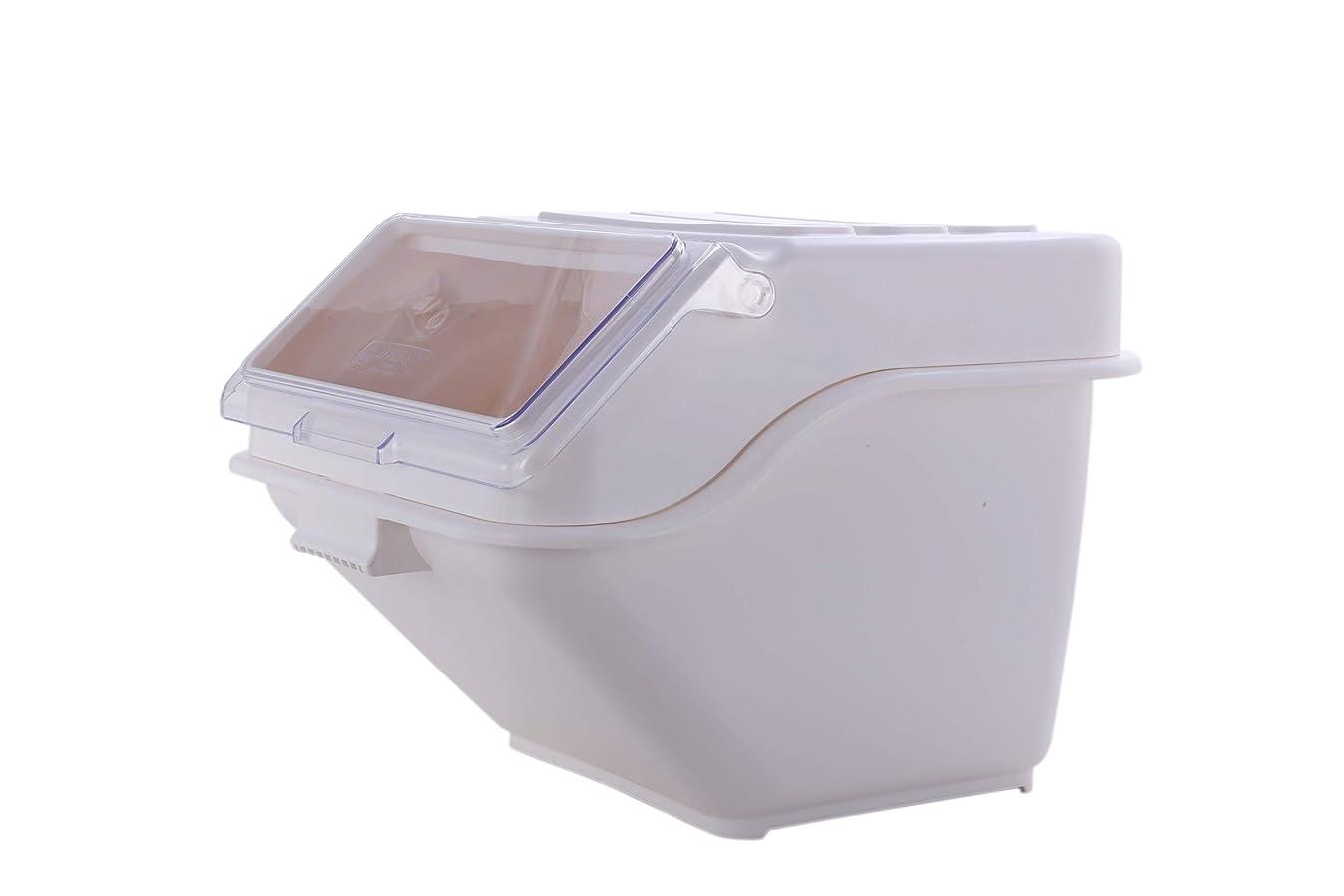 Hakka Commercial 200-cup ProSave Shelf-Storage Ingredient Bin with Scoop,Stackable