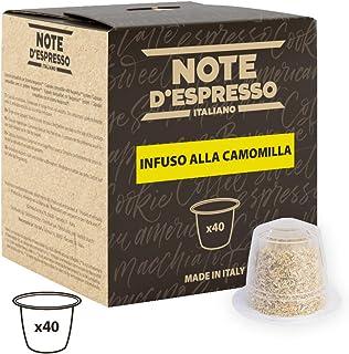 Note D'Espresso Cápsulas de Manzanilla compatibles con