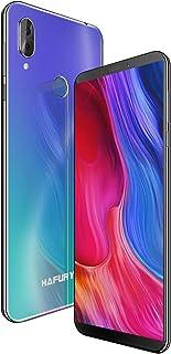 HAFURY NOTE 10 4G Android 9 Dual Sim Smartphone Libre Desbloqueado, pantalla 5.93 inch FHD con batería de 4000Mah, 4GB RAM+32GB ROM, ampliable hasta 128 GB, teléfono móvil doble cámara 8MP+16MP,Aurora