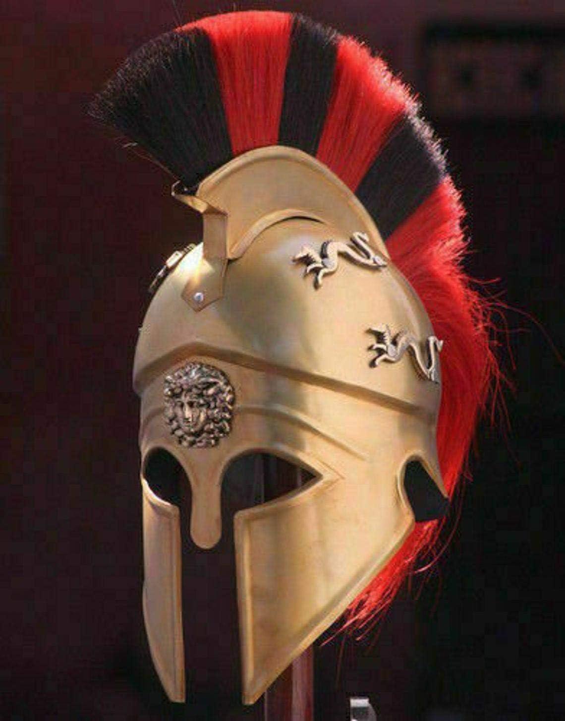 Nautical-Mart Max 63% OFF Royal Greek Corinthian Armor 100% quality warranty! Helmet Medieval Knigh