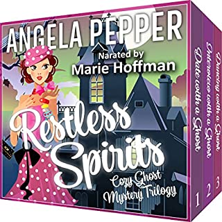 Restless Spirits Cozy Ghost Mystery Trilogy                   By:                                                                                                                                 Angela Pepper                               Narrated by:                                                                                                                                 Marie Hoffman                      Length: 18 hrs and 17 mins     Not rated yet     Overall 0.0