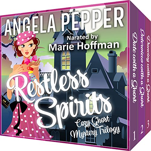 Restless Spirits Cozy Ghost Mystery Trilogy audiobook cover art