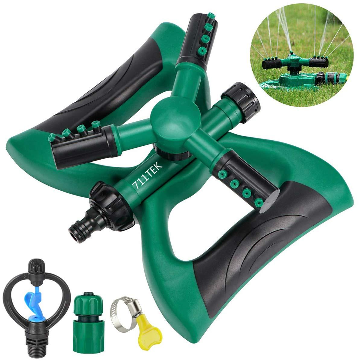 711TEK Sprinkler Irrigation Adjustable Oscillating