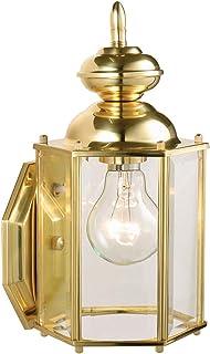 Solid Brass Design House 501692 Augusta 1 Light Indoor//Outdoor Wall Light