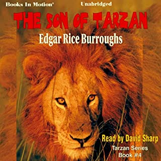 The Son of Tarzan audiobook cover art