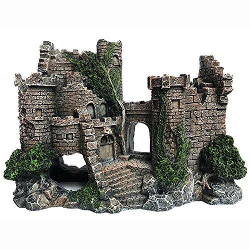 SLOCME Resin Castle Decoration