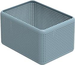 Rotho Madei pudełko do przechowywania 13 l, tworzywo sztuczne (PP z recyklingu) nie zawiera BPA, kolor niebieski, 13 l (3...