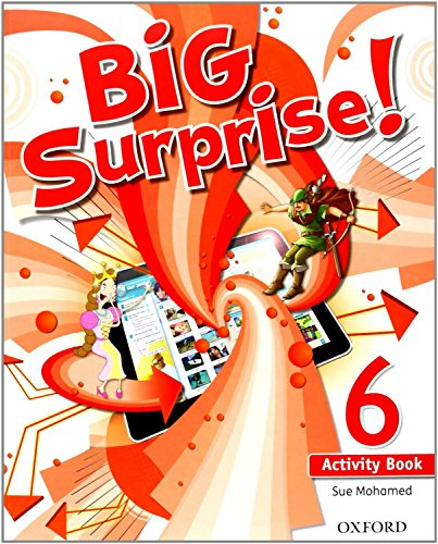 Big Surprise! 6. Activity Book+ Study Skills Booklet - 9780194516259