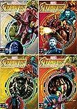 CARTOON WORLD 5 cuadernos Maxi A4 Seven – Marvel Avengers Infinity War – Rayado B