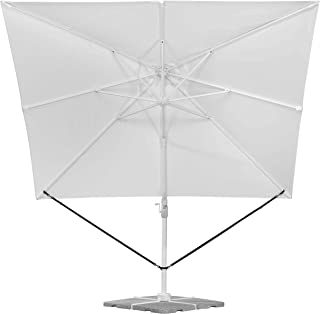 Schneider Schirme 313-00 paraply säkerhetsvakt, Vit, 273 x 2 x 0.2 cm