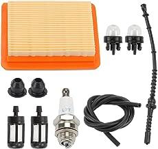 Venseri FS120 Air Filter with Fuel Line Filter Primer Blub for Stihl FS200 FS200R FS250 BT120C BT121 FS300 FS350 BT130 FR350 SP400 SP450 SP200 FS400 FS450 FS480 Trimmer 4134 141 0300