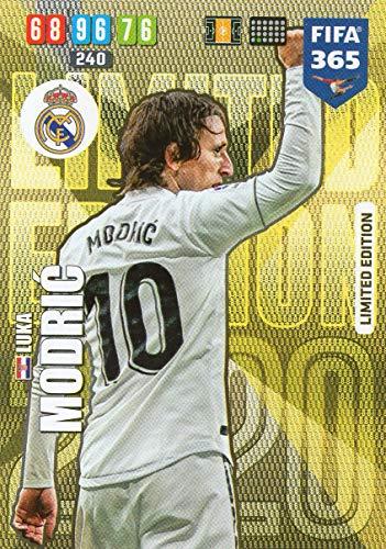 Limitierte Auflage PANINI ADRENALYN XL FIFA 365 2019 UPDATE Luka Modric Real Madrid