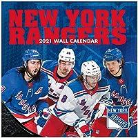 Turner NHL 30x30cm Wall Calendar 2021 ニューヨークレンジャーズ (New York Rangers)