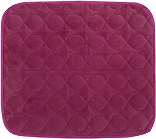 Platinum Care Pads Velvet Opulence Premium Comfort Chair Pad/Underpad Washable Size - 18X24 (Burgundy)