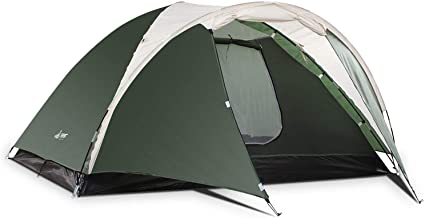 SEMOO Camping Tent 3PersonTent Double Layer Water Resistant Lightweight Traveling Tent with Portable Bag for Backpacking or The Beach