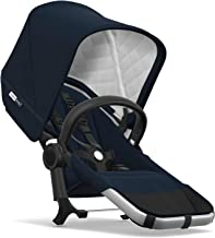 Bugaboo Donkey2 Classic Collection Duo Extension Set, Alu/Dark Navy – Expand from a Single to a Double Stroller. Includes Duo Extension Adapter, a Toddler Seat, Sun Canopy & Rain Cover