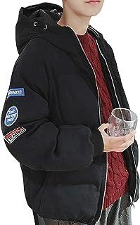 [ラクサス] 中綿ジャケット ブルゾン 厚手 ジャンパー ゆったり 防寒 アウター 冬物 メンズ