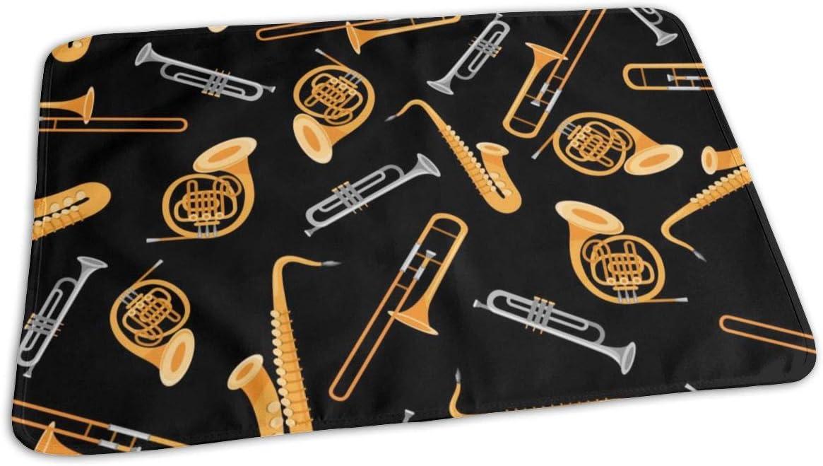 UAJAR Trombone Trumpet Saxophone Baby Cove Pad Dallas Mall Changing Bargain Reusable