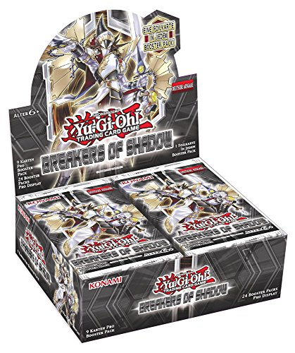 Konami Yu-Gi-Oh! Breakers of Shadow Display (24 Booster)