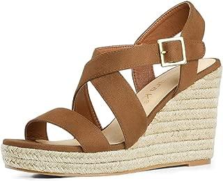 Women's Espadrilles Platform Slingback Wedges Sandals