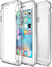 Trianium [Clear Cushion] Case for iPhone 6S Plus Case and iPhone 6 Plus Case 5.5 inch, Scratch Resistant, Shock Absorption, HD Clear, Hard Back Panel for Apple iPhone 6s/6 Plus - Clear