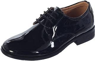 Avery Hill 男孩闪亮或哑光漆皮特殊场合洗礼鞋