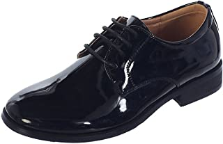 Boys Shiny or Matte Patent Leather Special Occasion Christening Shoes