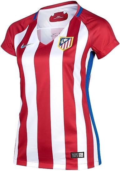 NIKE Atlético de Madrid W Nk Dry Stad JSY SS Hm Camiseta de ...