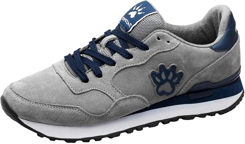 ZHRUI Men's Trainers (color   Grey, Size   8 UK)