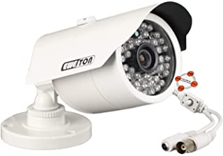 EWETON 1080P Hybrid Bullet Security Camera, 2.0 Megapixel HD 4-in-1 TVI/CVI/AHD/CVBS Waterproof Outdoor Surveillance Camera, 3.6mm Lens 48 LED 130ft IR Night Vision, Aluminum Alloy Housing