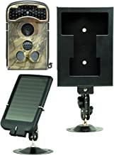 Ltl Acorn 2G Wildlife Trail Game Camera 14MP HD Waterproof Scouting Camera + Solar Panel Charger + Security Box