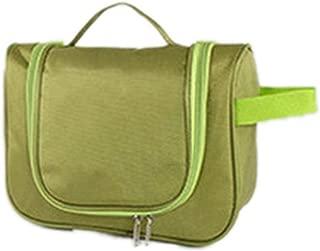 Waterproof Top Handle Makeup Bag Toiletry Bag Large Capacity Unisex Travel Cosmetic Bag Necessary for Women Makeup Kit,Green