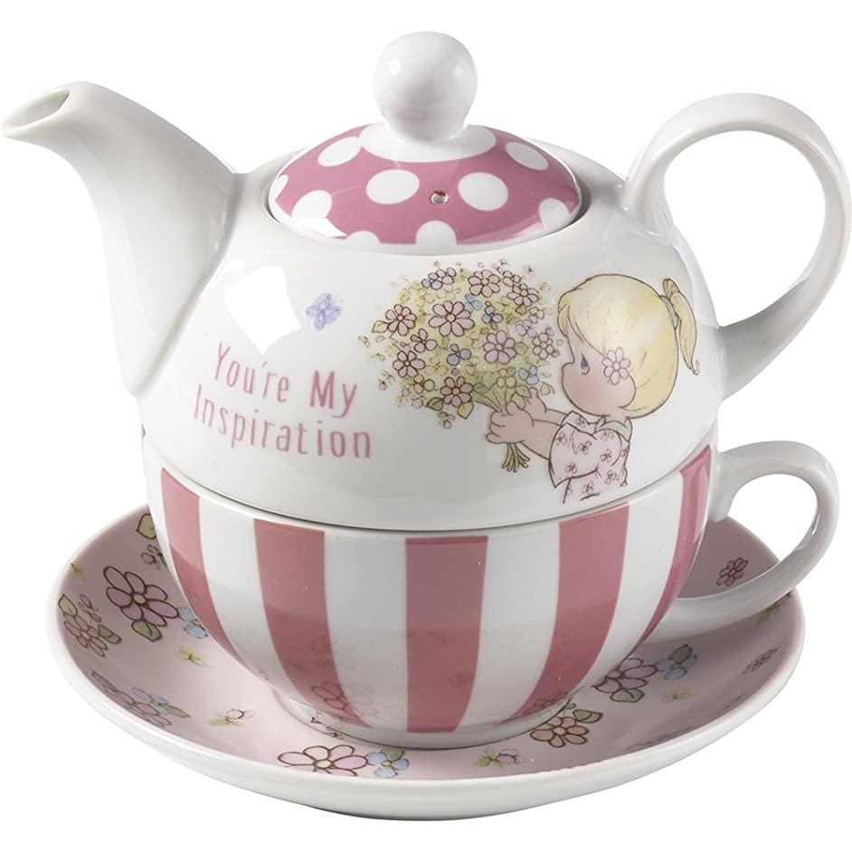 Precious Moments, You're My Inspiration, Porcelain Tea For One Set, 164442