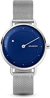 SKAGEN Womens Analogue Quartz Watch with Stainless Steel Strap SKW2738,Silver