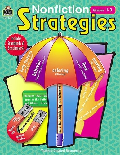 Teacher Created Resources Nonfiction Strategies Activity Book - 176 Pages - Grades 1 to 3