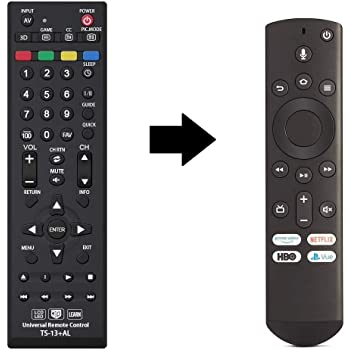 Universal CT-RC1US-19 Remote Control for All Toshiba Fire TV Edition, Smart TV, LED/LCD TV and Toshiba fire tv with Learning Function - 1 Year Warranty