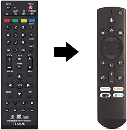 CT-RC1US-21 Replaced Remote fit for Toshiba Fire TV 43LF621U21 ...