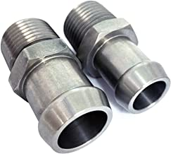 Best stainless steel heater hose fittings Reviews