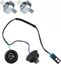 Knock Sensor with Harness Pair Kit Set OE:10456603,12589867 Fits Chevy GMC Silverado Sierra Cadillac (12589867)