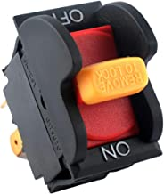 Upgrade SW7A On-Off Toggle/Table Saws/Drill Press Switch by Podoy Replacement for Delta 489105-00 and Ryobi/Ridgid 46023