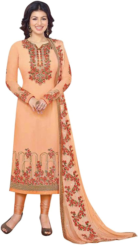 Bollywood Straight Dresses for women Salwar Kameez Ceremony Wedding 907 3