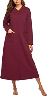 snap front housecoat