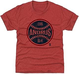 Elvis Andrus Texas Baseball Kids Shirt - Elvis Andrus Ball