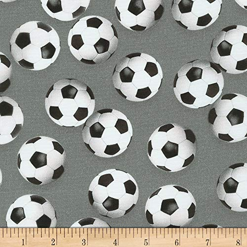 Balones de fútbol gris – algodón – a partir de 0,5 metros