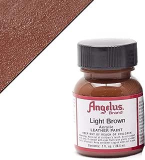 Angelus Leather Paint 1 Oz Light Brown