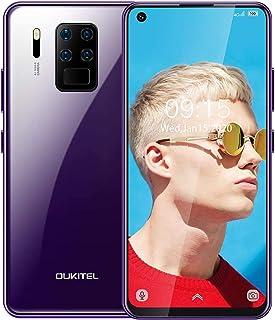 OUKITEL C18 Pro simフリー スマホ 本体 Android 9 シムフリー スマホ 6.55インチ全画面ディスプレ 16MP 超广角 4眼カメラ 64GB ROM+4GB RAM 4000mah 格安 顔認証 指紋認証 1年間保...