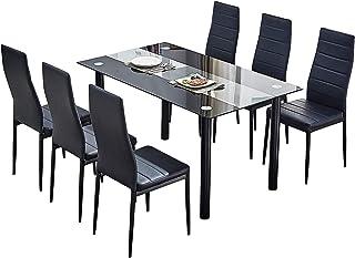 Amazon.fr : table verre salle a manger